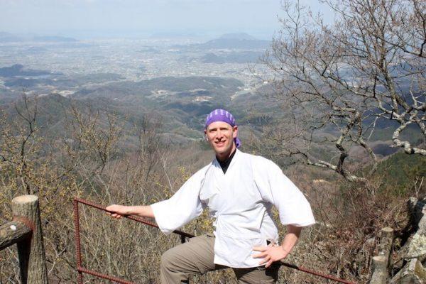Thomas Bauer Japan Hoechster Punkt Pilgerweg 2