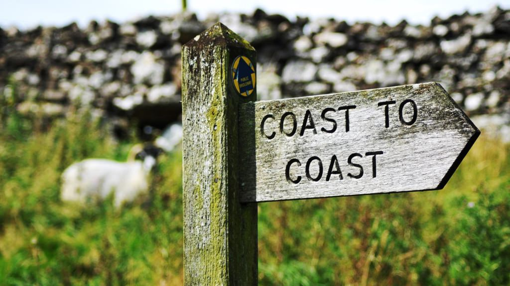 Coast to Coast sign England