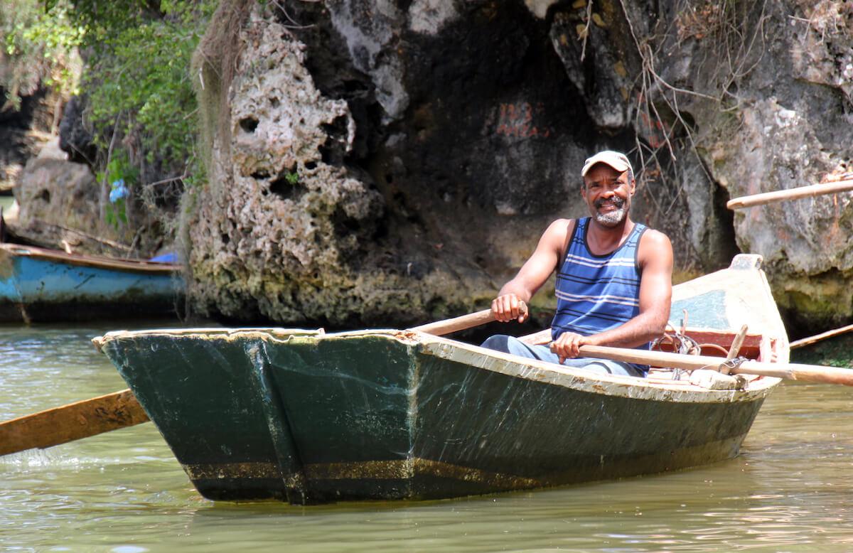 Ein Mann aus der Dominikanischen Republik