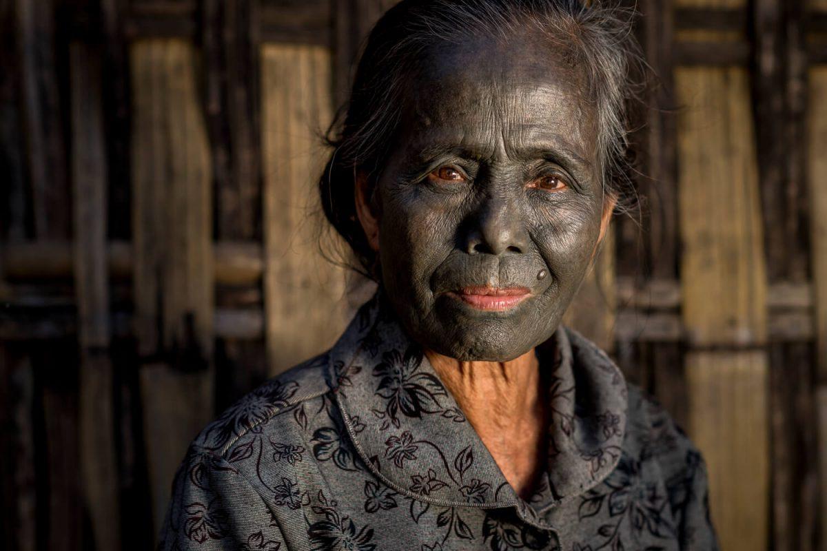 Chin-Frau in Myanmar Torger Berger