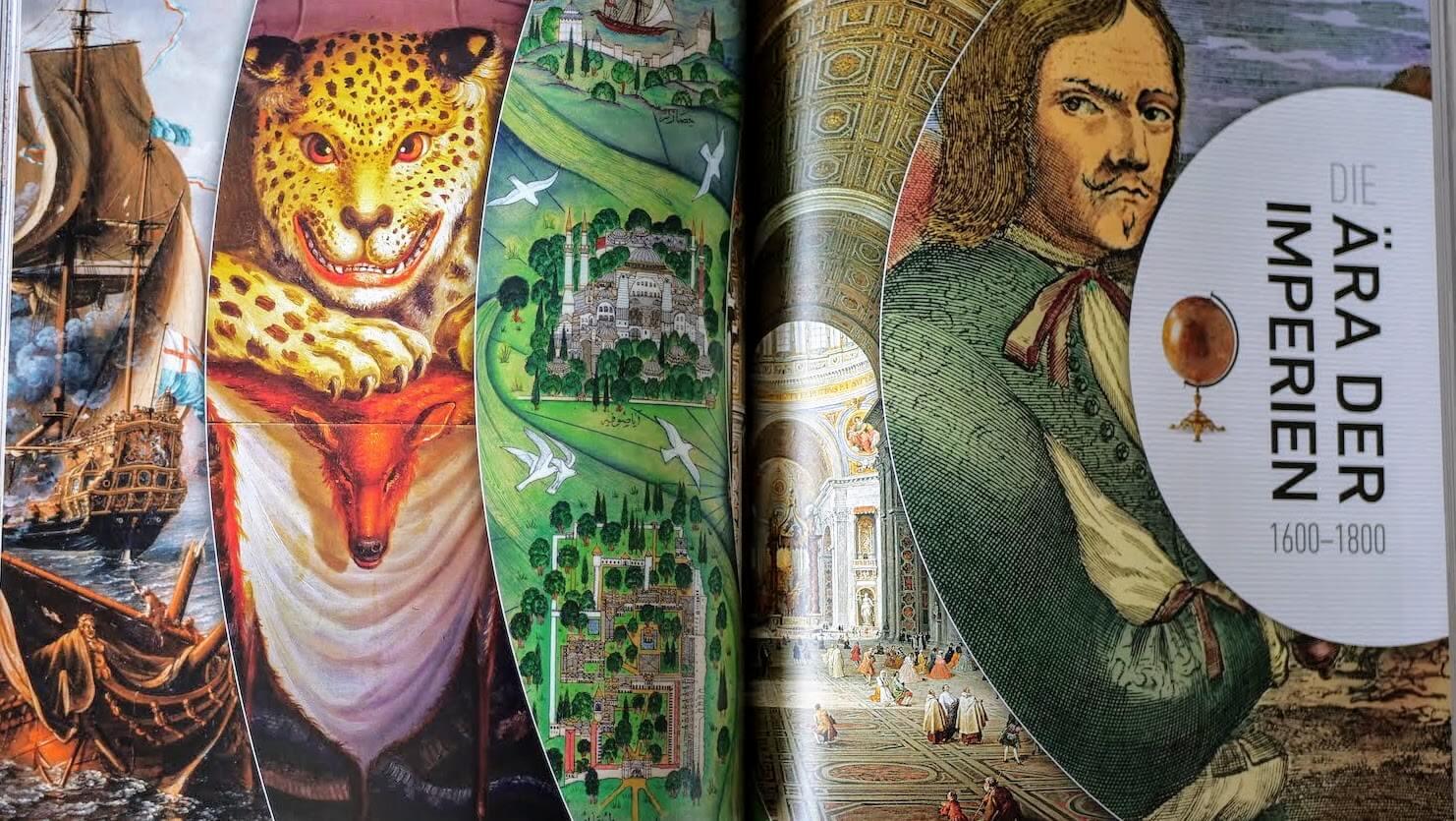 Reisen illustrierte Geschichte