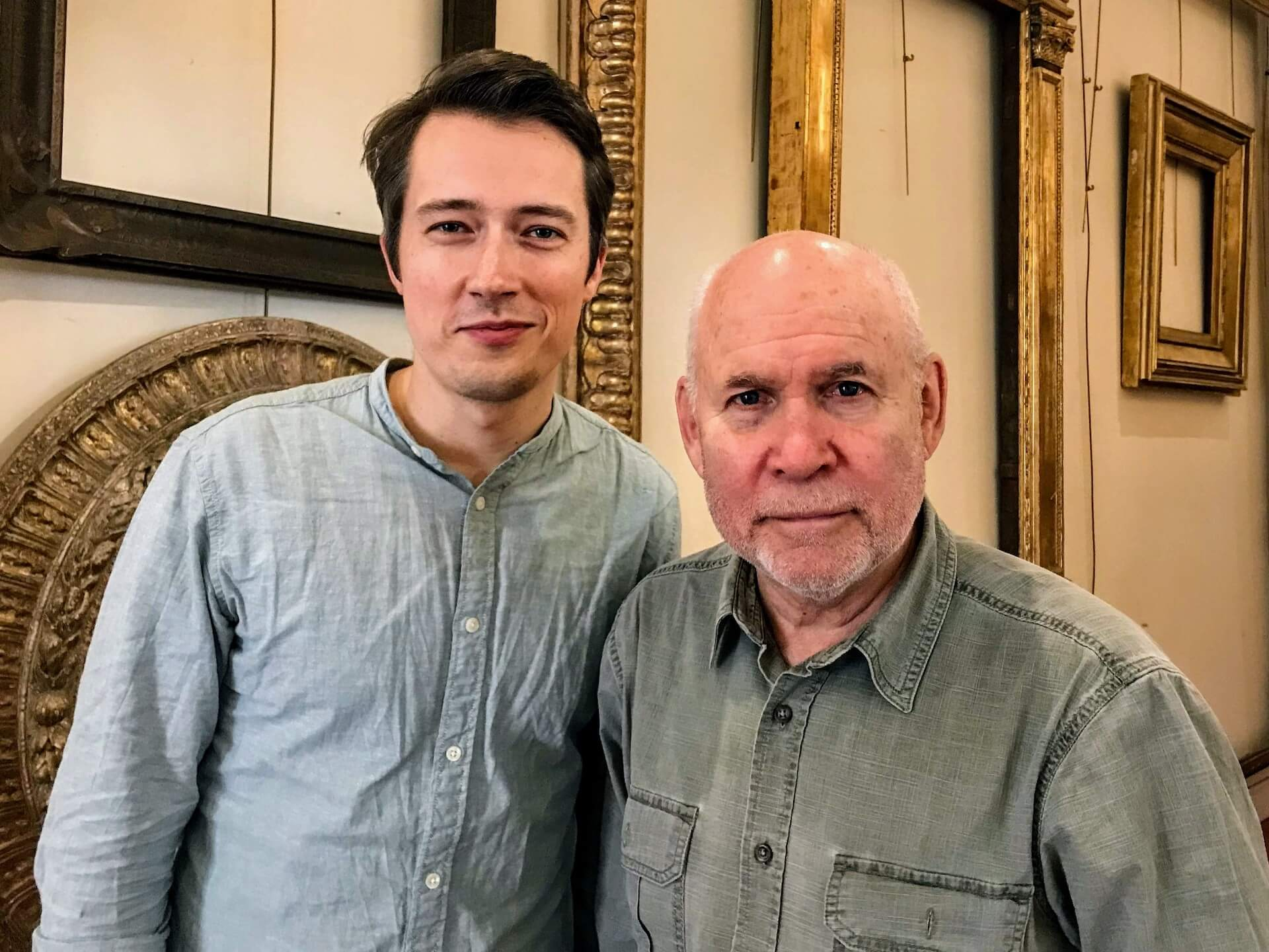 Steve McCurry & Erik Lorenz