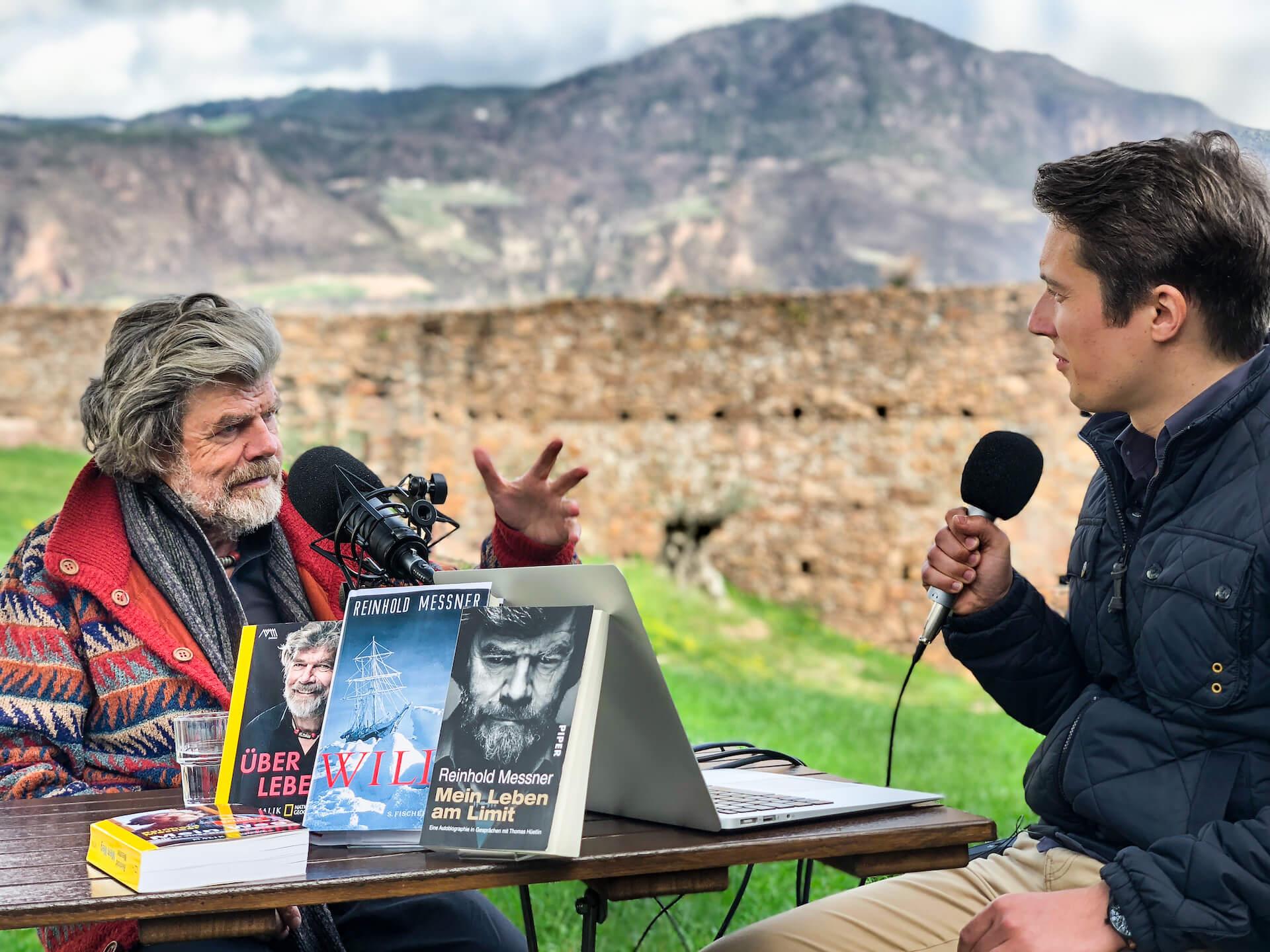 Reinhold Messner Erik Lorenz Weltwach 2