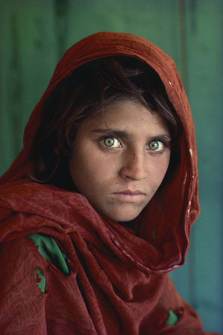 The Afghan Girl Steve McCurry