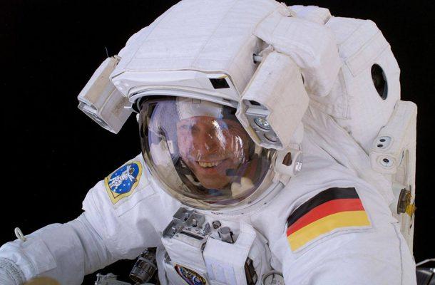 Astronaut Thomas Reiter